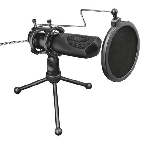 Trust GXT 232 Mantis, mikrofoni