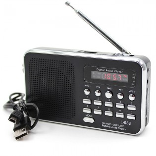 Matkaradio MP3-soittimella