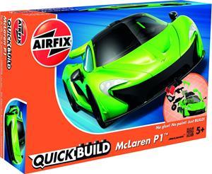 Quickbuild Mclaren P1 Auto, Vihreä/Musta