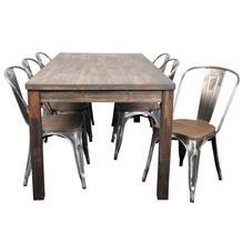 Fredrik ruokaryhmä 6 tuolilla