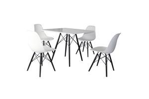 600.598 Ruokaryhmä, pöytä + 4 tuolia