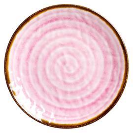 Rice, Melamiinilautanen Aqua Swirl Pink