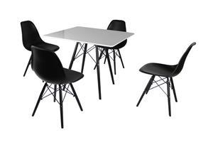 600.599 Ruokaryhmä, pöytä + 4 tuolia