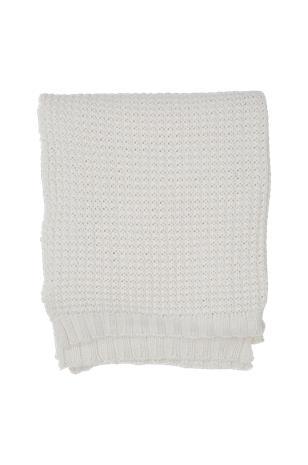 """Lexington """"Knitted Cotton Throw -torkkupeitto"""""""