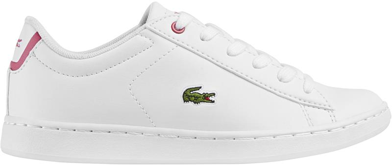 Lacoste Carnaby Evo Tennarit, White/Pink 30