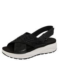"""Vamos """"Italialaiset sandaalit musta"""""""