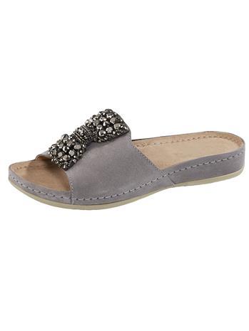 """Vamos """"Koristekiviapplikoidut sandaalit harmaa"""""""