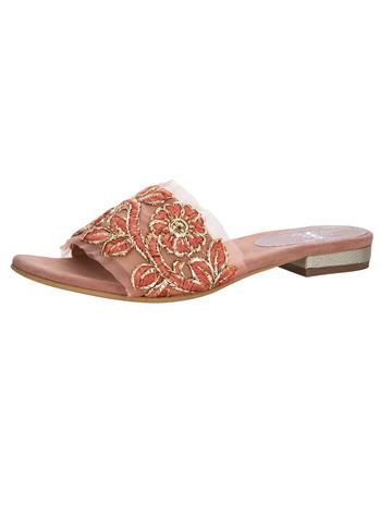 """Liva Loop"""" """"Käsinkirjaillut sandaalit vanharoosa"""