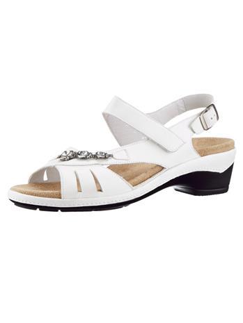 """Semler """"Ilmatyynyvaimennetut sandaletit harmaanruskea"""""""