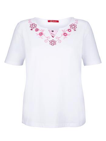 """Paola """"Kirjottu paita Valkoinen"""""""