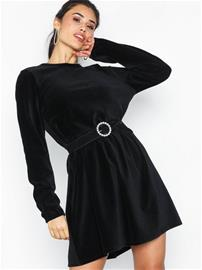 NLY Trend Cord Babydoll Dress