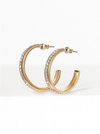 Freedom by Topshop Rhine Hoop Earrings