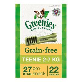 Greenies Grain-free -hammashoitoherkut, viljaton 170 g - 3 x Petite (170 g / 10 kpl)