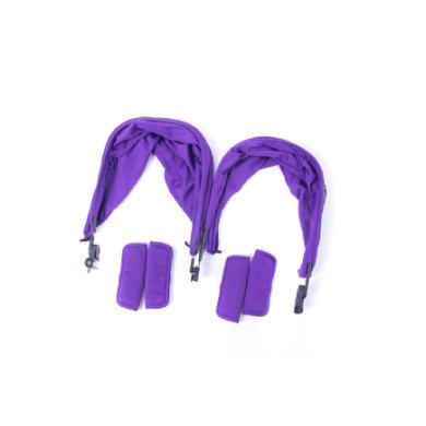Baby Monsters Värisetti Easy Twin -rattaisiin, Purple - liila