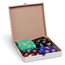 Happy socks 4 pakkaus Junkfood Gift Box * Ilmainen Toimitus *