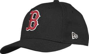 New Era 9FIFTY STRETCH SNAP BLACK BOSTON