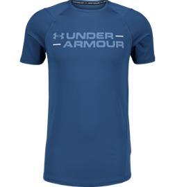 Under Armour M MK1 SHORTSLEEVE WORDMARK TEE PETROL BLUE/THUNDE