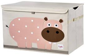 3Sprouts Toy Chest lelulaatikko hippo