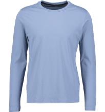 Soc M LONG SLEEVE TEE LIGHT DUSTY BLUE
