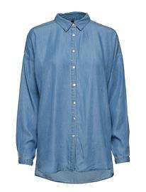 Pulz Jeans Pxtiffanny L/S Shirt Sininen