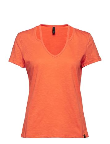 Pulz Jeans Pzdenka Shortsleeved T-Shirt Oranssi