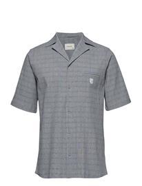 Tonsure Bowling Short Sleeve Shirt Harmaa