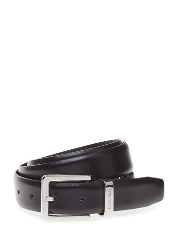 Calvin Klein 3cm Metal Loop Belt Musta