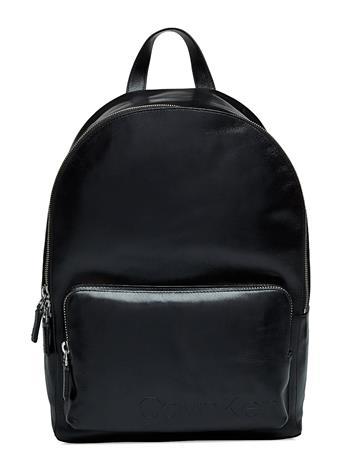 Calvin Klein Burn Backpack Musta