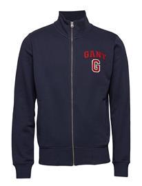 GANT O1. Graphic Full Zip Cardigan Sininen