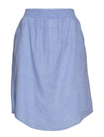 Moshi Moshi Mind Boxer Skirt Chambray Sininen