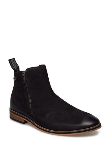 Superdry Trenton Zip Boot Musta