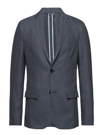 Calvin Klein Unconstructred Textured Blazer Sininen