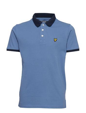 Lyle & Scott Junior Ringer Polo Shirt Sininen