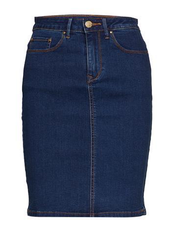 Vila Vicommit Felicia Short Skirt V. Mbd-Noos Sininen
