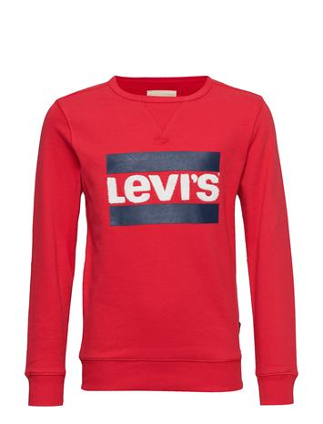 Levi's Sweat Crewheroe Punainen