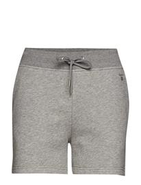 GANT Tonal Shield Sweat Shorts Harmaa
