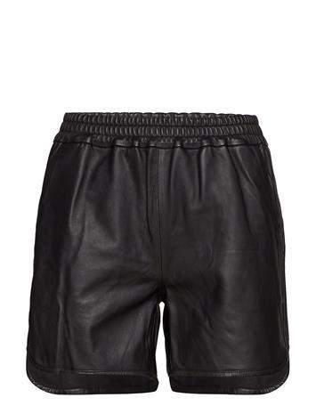 Vero Moda Vmlala Leather Shorts Musta
