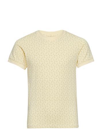 Mini A Ture Jeanica T-Shirt, Mk Keltainen
