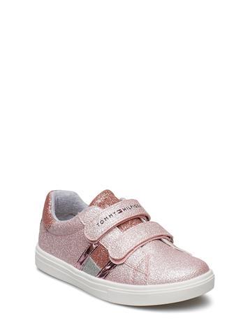 Tommy Hilfiger Low Cut Velcro Sneaker Vaaleanpunainen