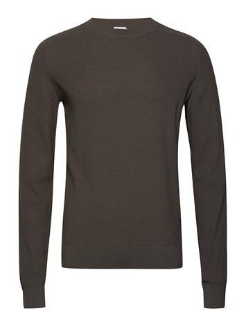 Filippa K M. Cotton Merino Mini Stucture Harmaa