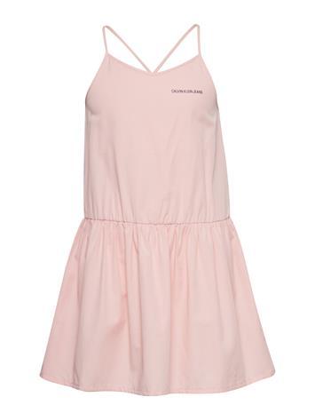 Calvin Klein Easy Slip On Dress Vaaleanpunainen