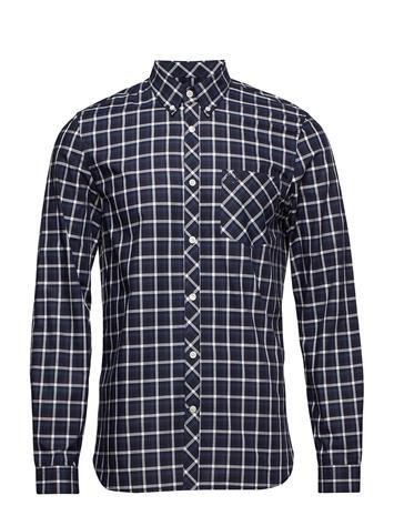 Fred Perry Gingham Shirt Sininen