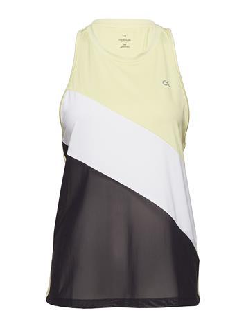 Calvin Klein Performance Tank Valkoinen, Naisten paidat, puserot, topit, neuleet ja jakut