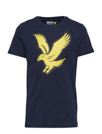 Lyle & Scott Junior Eagle Logo T-Shirt Sininen