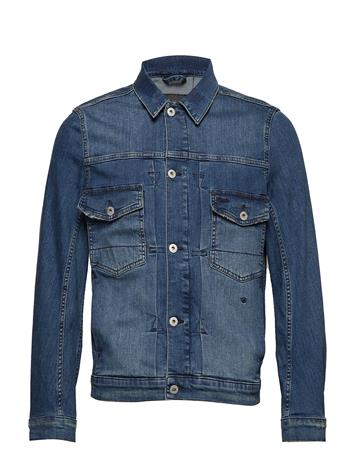 JUNK de LUXE Washed Denim Jacket Sininen