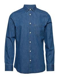 Filippa K M. Tim Denim Shirt Sininen