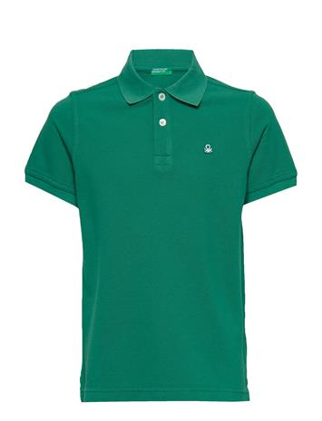 United Colors of Benetton H/S Polo Shirt Vihreä