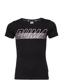 PUMA Alpha Logo Tee G Musta