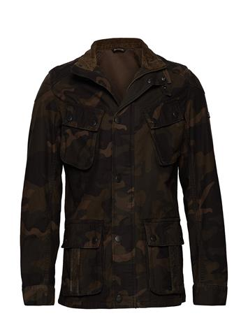 Barbour B.Intl Washed Camo Casual Ruskea