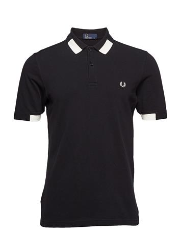 Fred Perry Tipped Pique Shirt Musta